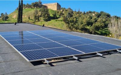 Plaques solars a Santa Maria de Gardeny