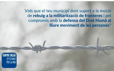 Declaració institucional contra la militarització de fronteres i a favor de les refugiades climàtiques